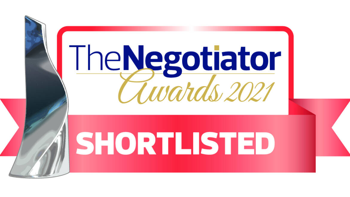 Shortlisted for best estate agent in Wales 2021
