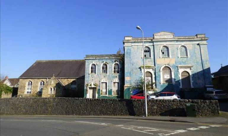 Former Wesleyan Chapel, Haverfordwest, Haverfordwest, Pembrokeshire (POM1000880)