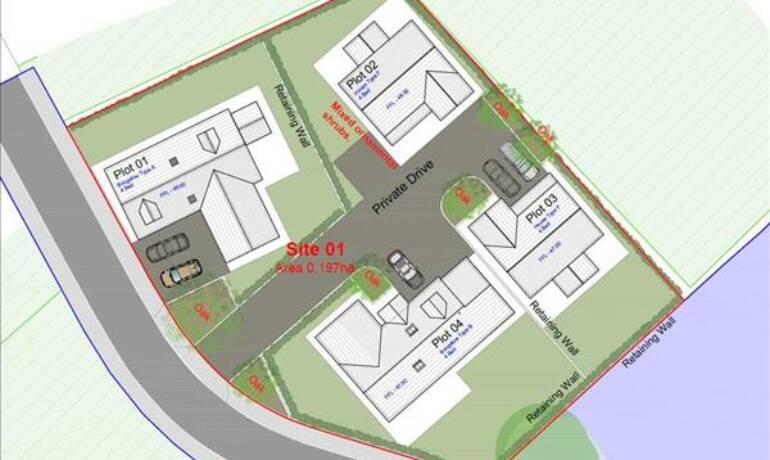 Land At Brooklands Park, Haverfordwest, Haverfordwest, Pembrokeshire (POM1001222)